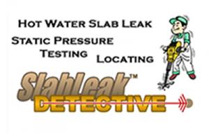 Slab Leak Detection for Hot Water