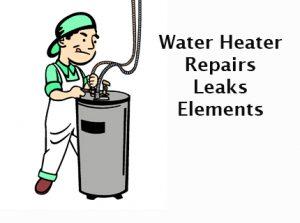 Water heater supply line repair