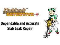 Slab leak detection and repair with Plumber Jackhammering