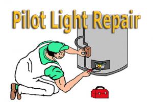 Pilot Light Repair Gas Water Heater 2