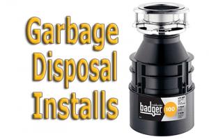 garbage disposal install