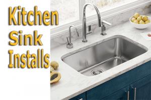 kitchen sink install
