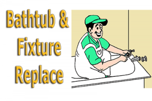 Bathtub Replace with Text