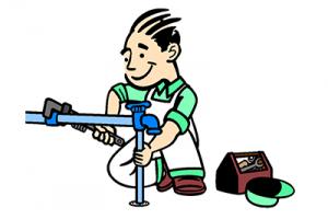 Plumber Repairing Outside Faucet 2