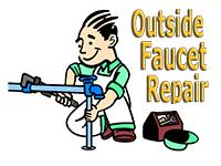 Plumber Repairing Outside Hydrant Leaks