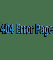 404 Error Page Image