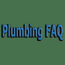 Plumbing FAQ Image