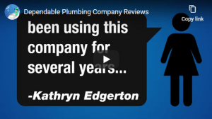 Dependable Plumbing Video Cover 2