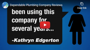 Dependable Plumbing Video Hover