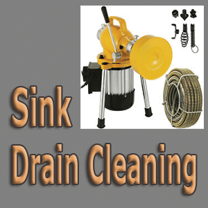 Sink Drain Cleaning